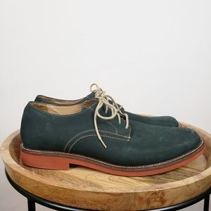 14th & Union Teal Green Leather Derbys 12